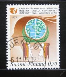 Poštovní známka Finsko 1975 Mezinárodní rok žen Mi# 774