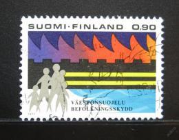 Poštovní známka Finsko 1977 Civilní obrana Mi# 813