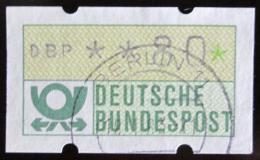 Poštovní známka Nìmecko 1981 Známka z automatu, ATM Mi# 1