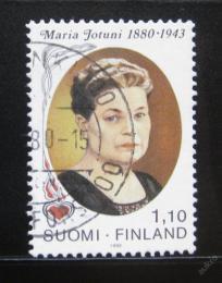 Poštovní známka Finsko 1980 Maria Jotuni, spisovatel Mi# 863
