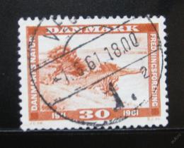 Poštovní známka Dánsko 1961 Krajina Mi# 389
