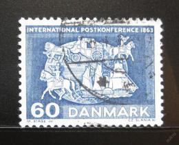 Poštovní známka Dánsko 1963 Poštovní konference Mi# 414