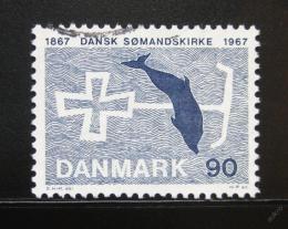 Poštovní známka Dánsko 1967 Dánská církev moøeplavcù Mi# 466
