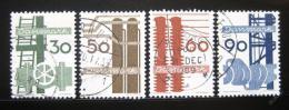Poštovní známky Dánsko 1968 Dánský prùmysl Mi# 470-73