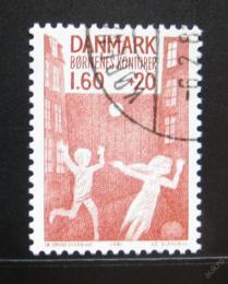 Poštovní známka Dánsko 1981 Hrající si dìti Mi# 722