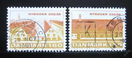 Poštovní známky Dánsko 1981 Nyboder, 150. výroèí Mi# 728-29