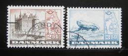 Poštovní známky Dánsko 1983 Severská spolupráce Mi# 772-73