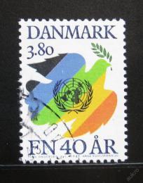 Poštovní známka Dánsko 1985 OSN, 40. výroèí Mi# 847