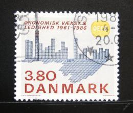 Poštovní známka Dánsko 1986 Ekonomická spolupráce Mi# 887