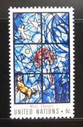 Poštovní známka OSN New York 1967 Umìní Mi# 189