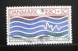 Poštovní známka Dánsko 1987 Asociace epileptikù Mi# 902