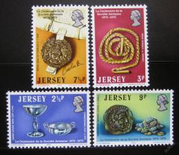 Poštovní známky Jersey 1973 Artefakty z muzea Mi# 77-80