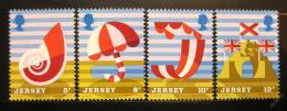 Poštovní známky Jersey 1975 Turistika Mi# 119-22