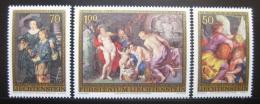 Poštovní známky Lichtenštejnsko 1976 Umìní Mi# 655-57