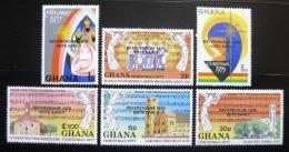 Poštovní známky Ghana 1978 Referendum Mi# 728-33