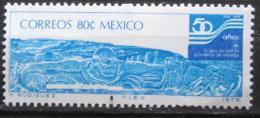Poštovní známka Mexiko 1976 Bùh Netzahualcoyotl Mi# 1523