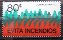 Poštovní známka Mexiko 1976 Prevence lesních požárù Mi# 1531