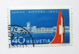 Poštovní známka Švýcarsko 1953 Letištì Zurich Mi# 585 Kat 15€