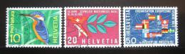 Poštovní známky Švýcarsko 1966 Výroèí a události Mi# 833-35