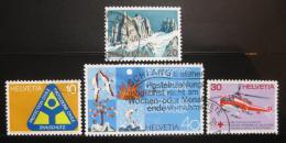 Poštovní známky Švýcarsko 1972 Výroèí a události Mi# 975-78