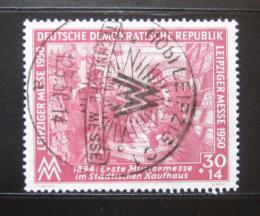 Poštovní známka DDR 1950 Lipský veletrh Mi# 249 Kat 14€