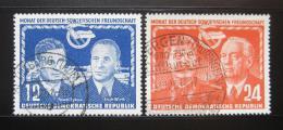 Poštovní známky DDR 1951 Pøátelství se SSSR Mi# 295 Kat 9€