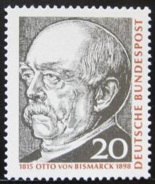 Poštovní známka Nìmecko 1965 Otto von Bismarck Mi# 463