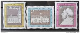 Poštovní známky DDR 1967 Výroèí Reformace Mi# 1317-19