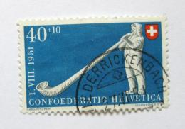Poštovní známka Švýcarsko 1951 Alpský roh Mi# 559 Kat 20€