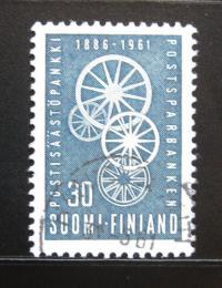 Poštovní známka Finsko 1961 Poštovní spoøitelna Mi# 534