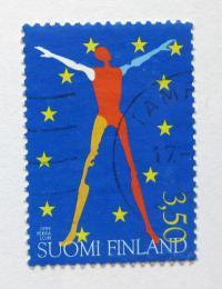 Poštovní známka Finsko 1999 Prezidenství EU Mi# 1483