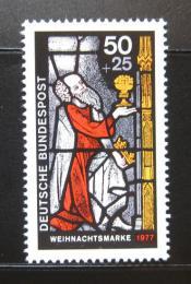 Poštovní známka Nìmecko 1977 Vánoce Mi# 955