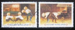 Poštovní známky Finsko 1980 Tradièní hry Mi# 874-75
