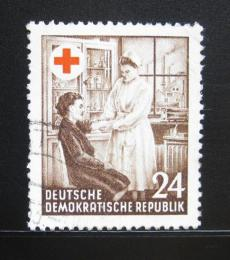 Poštovní známka DDR 1953 Èervený køíž Mi# 385