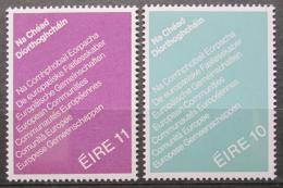 Poštovní známky Irsko 1979 Evropský parlament Mi# 395-96