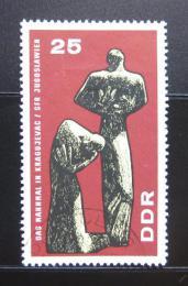 Poštovní známka DDR 1967 Monument v Kragujevaci Mi# 1311