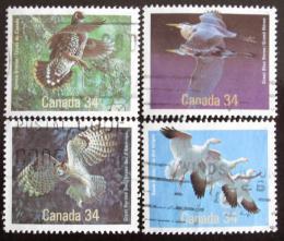 Poštovní známky Kanada 1986 Ptáci Mi# 985-88