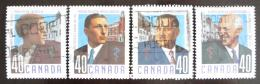 Poštovní známky Kanada 1991 Lékaøi Mi# 1218-21