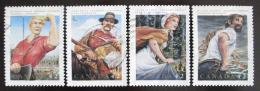 Poštovní známky Kanada 1992 Legendární hrdinové Mi# 1314-17