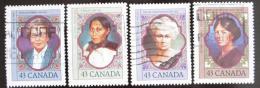 Poštovní známky Kanada 1993 Slavné ženy Mi# 1345-48