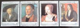 Poštovní známky Èad 1978 Umìní, Albrecht Dürer Mi# 831-34