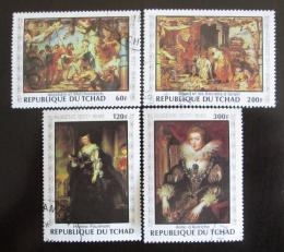 Poštovní známky Èad 1978 Umìní, Rubens Mi# 835-38