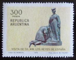Poštovní známka Argentina 1978 Španìlský královský pár Mi# 1368