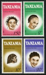 Poštovní známky Tanzánie 1987 Úèesy Mi# 386-89