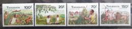 Poštovní známky Tanzánie 1992 Tradièní lov Mi# 1364-67