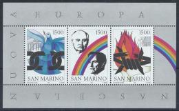 Poštovní známky San Marino 1991 Nová Evropa Mi# Block 14