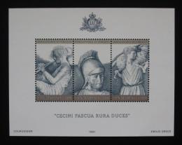 Poštovní známky San Marino 1981 Umìní Mi# Block 8