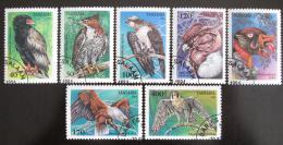 Poštovní známky Tanzánie 1994 Dravci Mi# 1854-60 Kat 8€