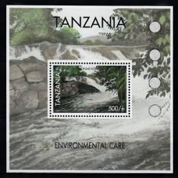 Poštovní známka Tanzánie 2007 Ochrana pøírody Mi# Block 606