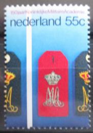 Poštovní známka Nizozemí 1978 Vojenská akademie, 150. výroèí Mi# 1126